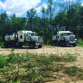 trucks of Graham Utility Hydrovac Services