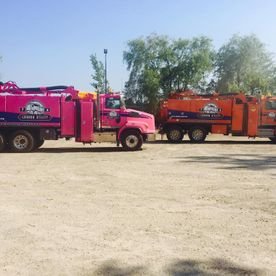 Graham Utility Hydrovac Services's trucks